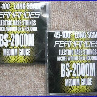 FERNANDES BS-2000M ベース弦 ロング 45-100x2 (弦)