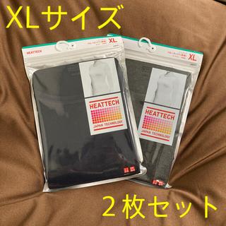 UNIQLO - 【新品未使用】ユニクロWOMEN ヒートテッククルーネックT XL(2枚セット)