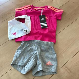 アディダス(adidas)のアディダス ベビー服 子供服 60サイズ セット(Tシャツ)