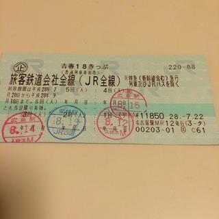 青春18きっぷ(旅行用品)