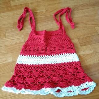 プティマイン(petit main)の手編みワンピース(ワンピース)