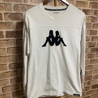 カッパ(Kappa)のkappa ロングTシャツ ホワイト  L 品番45(Tシャツ/カットソー(七分/長袖))
