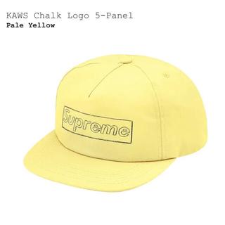シュプリーム(Supreme)のSupreme KAWS Chalk Logo 5-Panel Yellow(キャップ)