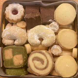 缶入りクッキー brown缶(菓子/デザート)