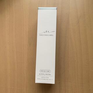 マキアレイベル(Macchia Label)のマギアレーベルアクアティブミクロンウォーター 80ml(化粧水/ローション)