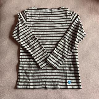 オーシバル(ORCIVAL)のオーシバル  ブラウンボーダー 長袖Tシャツ(Tシャツ(長袖/七分))