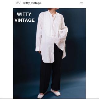 witty vintage ドレスシャツ(シャツ/ブラウス(長袖/七分))