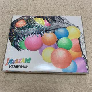 キスマイフットツー(Kis-My-Ft2)のKis-My-Ft2 ISCREAM 初回限定生産2cups盤(CD+DVD)(ポップス/ロック(邦楽))