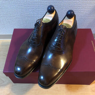 EDWARD GREEN - VASS 革靴 39 walnut museum calf
