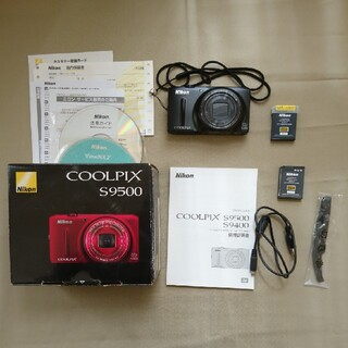 Nikon - ニコン COOLPIX S9500 予備バッテリー付