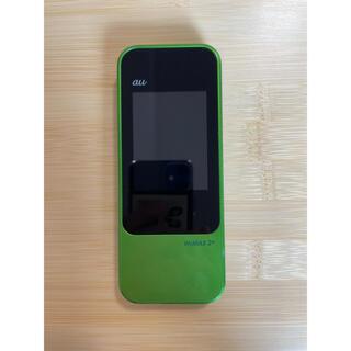 ファーウェイ(HUAWEI)のHuawei au Speed Wi-Fi NEXT W04 HWD35 (その他)