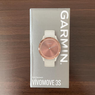 ガーミン(GARMIN)の【保証期間内】GARMIN ガーミン vivomove 3S(腕時計)