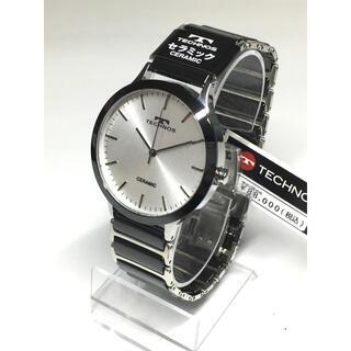 テクノス(TECHNOS)のテクノス  セラミック  シルバー(腕時計(アナログ))