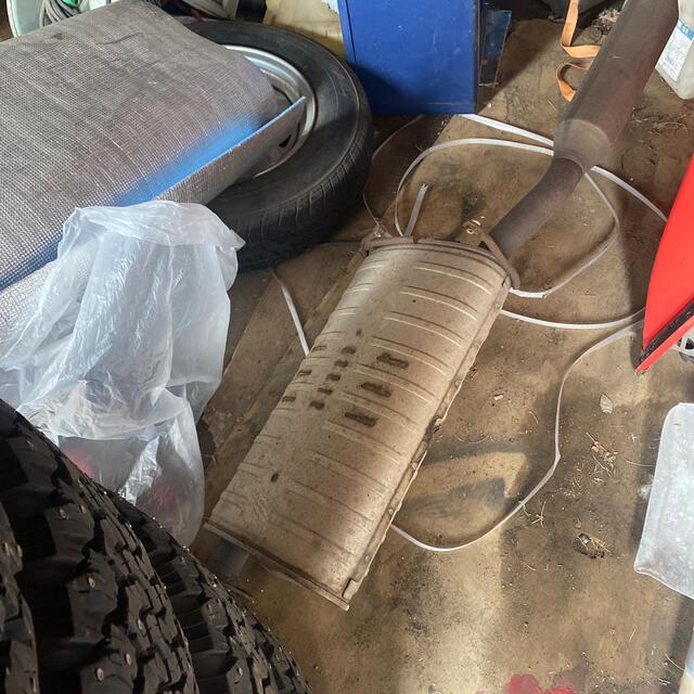 三菱(ミツビシ)のデリカD5ノーマルマフラー 車検用に! 自動車/バイクの自動車(車種別パーツ)の商品写真