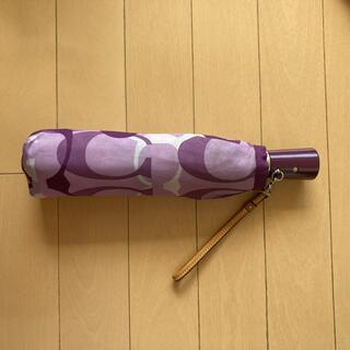 COACH - コーチ 折りたたみ傘