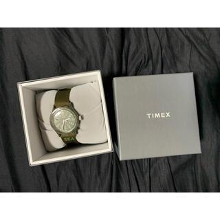 タイメックス(TIMEX)のTIMEX×WIND AND SEA OLIGINAL CAMPER GREEN(腕時計(アナログ))