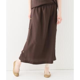 ジョンリンクス(jonnlynx)の BASERANGE ベースレンジ  購入 シルクスカート Silk Voile(ロングスカート)
