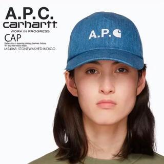 carhartt - A.P.C.×カーハート WIP コラボキャップ 帽子