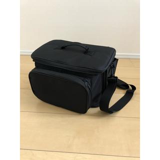 メイクバニティポーチ ブラック大容量(メイクボックス)