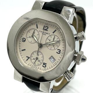 CHAUMET - ショーメ W03210-024 デイト スタイルダンディ クロノグラフ 腕時計
