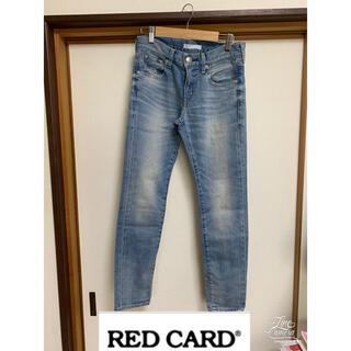 エストネーション(ESTNATION)の【新品タグ付き】RED CARD×ESTNATION デニム 22(デニム/ジーンズ)