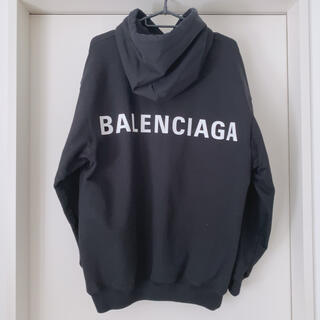 Balenciaga - BALENCIAGA ❤︎ バックプリント フーディ