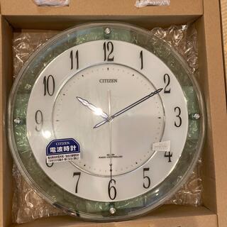シチズン(CITIZEN)のシチズン掛け時計 電波掛け時計 4MY791-005 ミレディM791 (掛時計/柱時計)