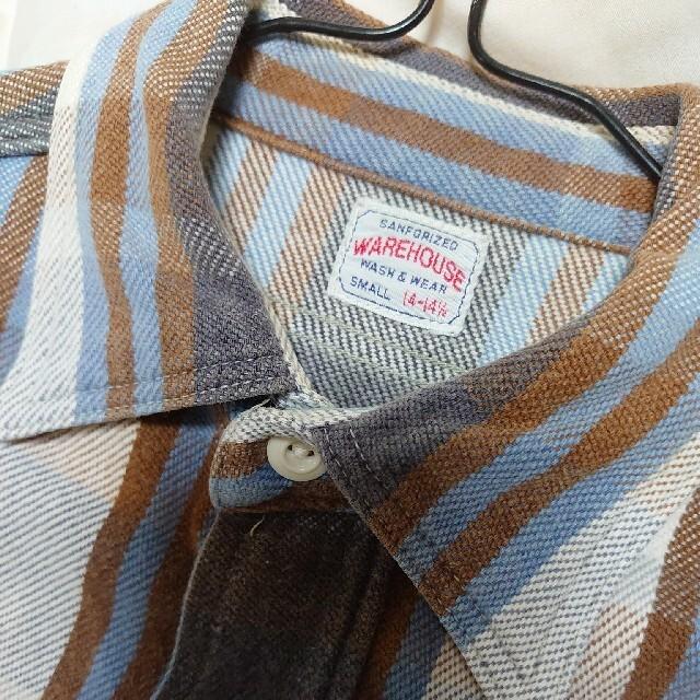 WAREHOUSE(ウエアハウス)の■ウエアハウス ネルシャツ■ヴィンテージ メンズのトップス(シャツ)の商品写真