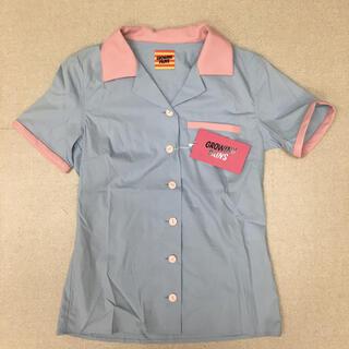 アッシュペーフランス(H.P.FRANCE)のGROWING PAINSボーリングシャツ(シャツ/ブラウス(半袖/袖なし))