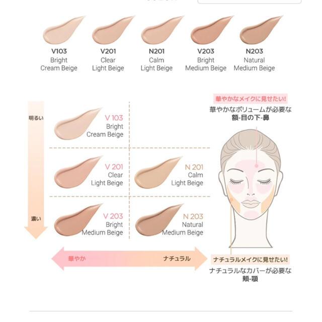 THE FACE SHOP(ザフェイスショップ)のink ラスティングファンデーション グロウ コスメ/美容のベースメイク/化粧品(ファンデーション)の商品写真