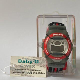 ベビージー(Baby-G)の【動作不良】CASIO Baby-G Gショック BG-390R 腕時計 赤 (腕時計(デジタル))