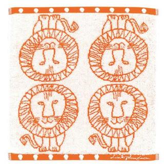 リサラーソン(Lisa Larson)のリサラーソン ウォッシュタオル 3枚セットミンミ/ハリエット/ライオン) 丸眞(ハンカチ)