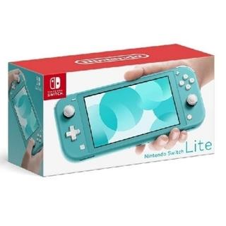 ニンテンドースイッチ(Nintendo Switch)のNintendo Switch  Lite ターコイズ&グレー(家庭用ゲーム機本体)