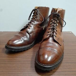 Crockett&Jones - クロケット&ジョーンズ ショートブーツ レースアップブーツ 革靴 レザーシューズ