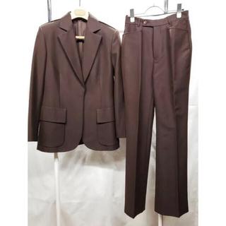 グッチ(Gucci)のGUCCI レディース セットアップ スーツ ブラウン 9号 Mサイズ(スーツ)