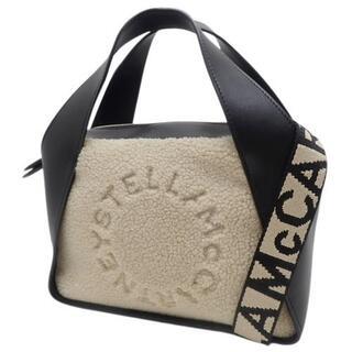 ステラマッカートニー(Stella McCartney)のステラマッカートニーステラロゴクロスボディバッグミディアム40800070915(ハンドバッグ)