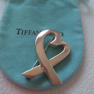 ティファニー(Tiffany & Co.)のティファニーのラビングハートブローチ(ブローチ/コサージュ)