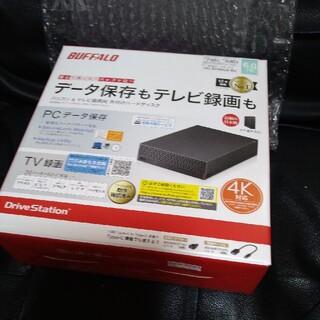 バッファロー(Buffalo)の4T HDD バッファロー 増設ハードディス(テレビ)