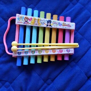 プリキュア鉄琴(楽器のおもちゃ)
