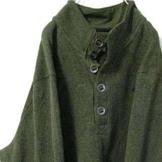 UNDER ARMOUR - アンダーアーマー 刺繍 スウェット XL モスグリーン 緑 古着