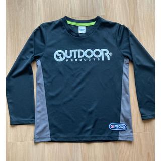 アウトドアプロダクツ(OUTDOOR PRODUCTS)の長袖 ロンT  男の子 140㎝ スポーツウェア(Tシャツ/カットソー)