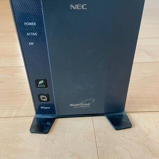 エヌイーシー(NEC)のルーター WR8370N(PC周辺機器)