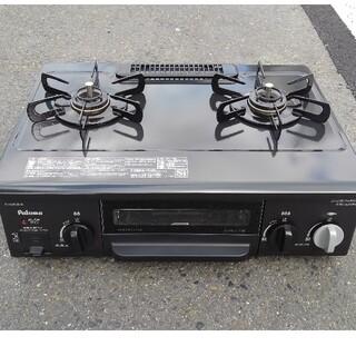 パロマピカソ(Paloma Picasso)の【にやん様 専用】都市ガス テーブルコンロ パロマ IC-N30B-R(調理機器)