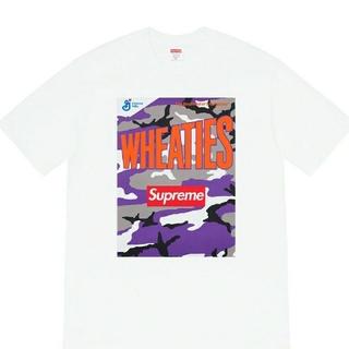 シュプリーム(Supreme)のSupreme Wheaties Tee 白  M(Tシャツ/カットソー(半袖/袖なし))