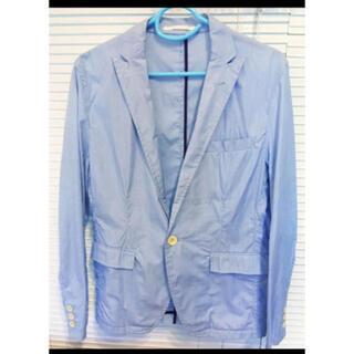 コムサイズム(COMME CA ISM)のcomme ca ism メンズ ジャケット ブルー(テーラードジャケット)