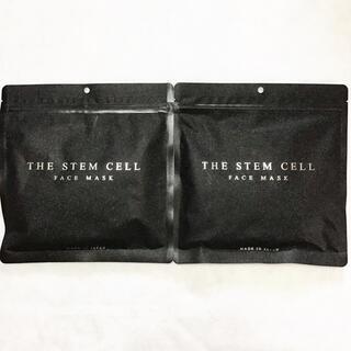 大人気!ザ ステムセル 高級 フェイスパック 美白 幹細胞培養液 30枚入 2袋(パック/フェイスマスク)