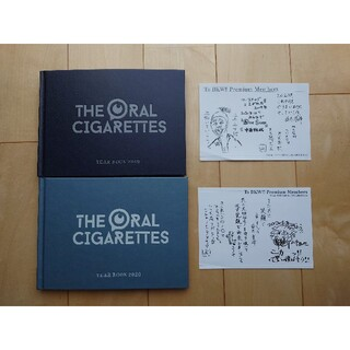 the oral cigarettes year book 写真集(ミュージシャン)
