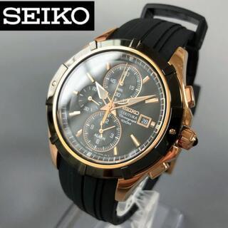 SEIKO - 【新品】セイコー上級コーチュラ メタルブラック★SEIKO 腕時計 メンズ
