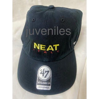 COMOLI - 新品 NEAT ITALY CAP L'ECHOPPE キャップ ブラック 黒