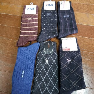 FILA - メンズ靴下 新品未使用 6セット